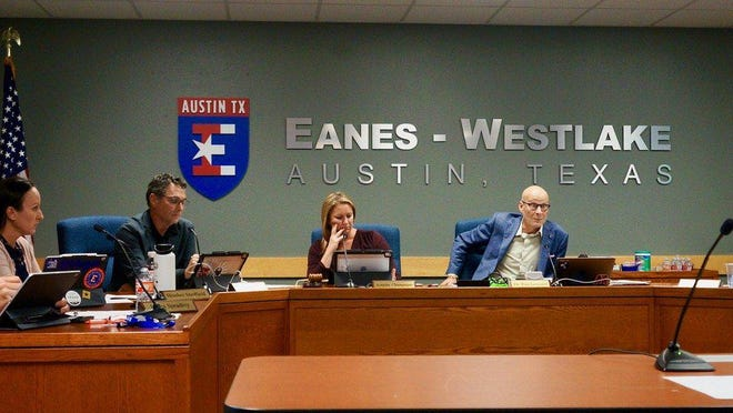 The Eanes school board heard a report at its meeting Nov. 2 about enrollment, which is down by 195 students in the district's official snapshot compared to this time last year