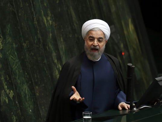 AP MIDEAST IRAN I IRN