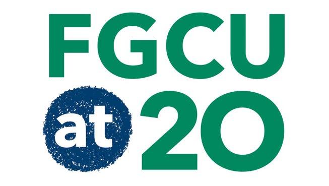 FGCU at 20 logo