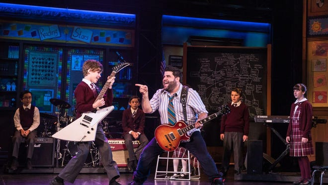 """The Broadway season at Wharton starts out with School of Rock,"""" Sept. 18-23."""