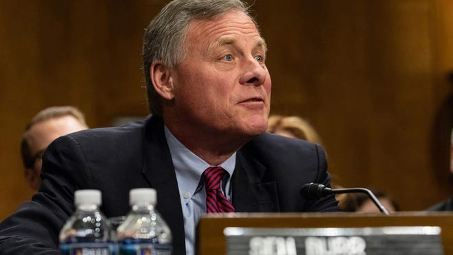 Sen. Richard Burr (R-N.C.) during a Senate Foreign Relations Committee hearing on Capitol Hill in Washington, D.C., on April 12, 2018. (Cheriss May/Sipa USA/TNS)