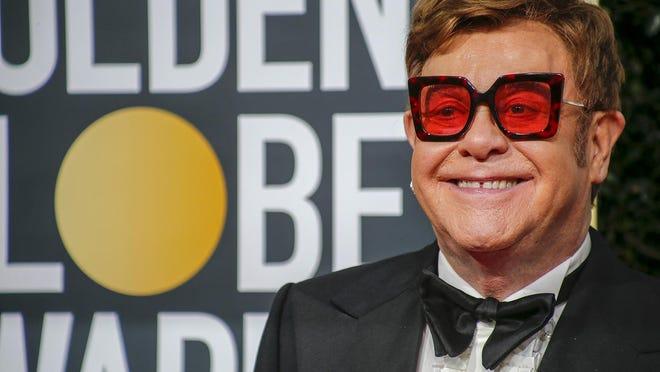 "Elton John will be hosting the iHeart Living Room Concert for America"" on the Fox network on March 29."