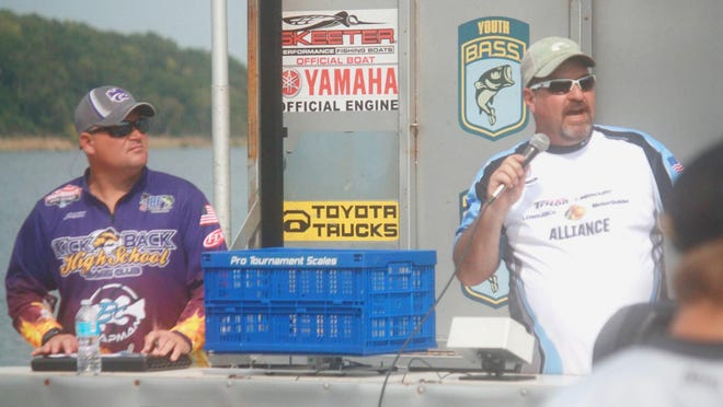 Former Kansas BASS Nation youth director Richard Heflin, right, of Topeka, is once again in a leadership position in the KBN after being elected president on Nov. 7 in an unopposed race.