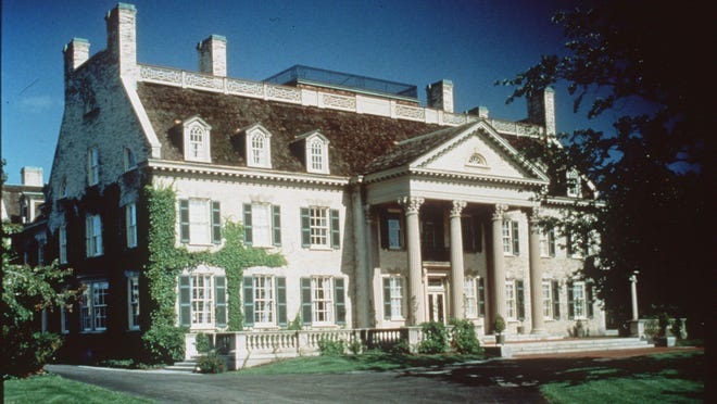 The George Eastman House, now known as the George Eastman Museum.