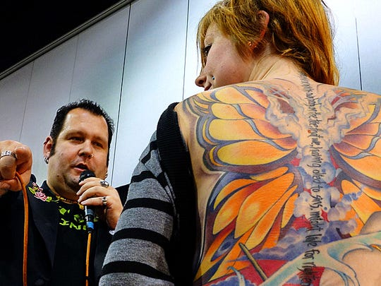 Chrome & Ink Car Show & Tattoo Festival is happening Friday through Saturday at the Oregon State Fairgrounds.