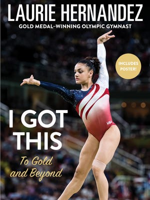The cover of Laurie Hernandez's forthcoming memoir.