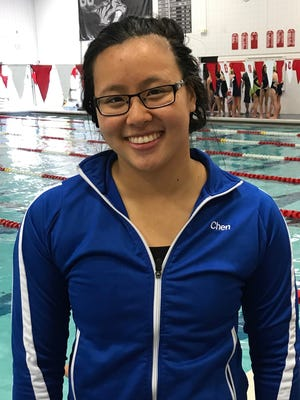 Salem senior Jenna Chen said competing in the Rock Mauer Invitational brings the best out of area teams.