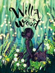 """The cover of """"Willa of the Wood"""" by Robert Beatty."""