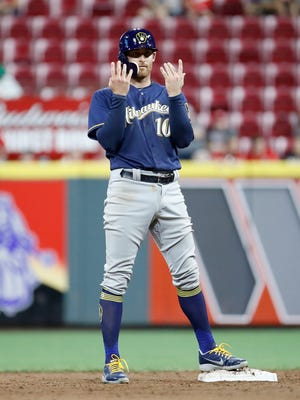 Utility player Brad Miller was hoping to end up with the Brewers after he was designated for assignment by the Tampa Bay Rays.