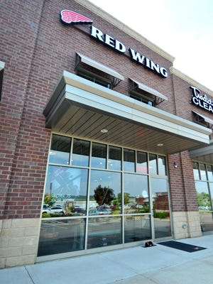 Red Wing Shoes store off from Stewart Avenue in Wausau.