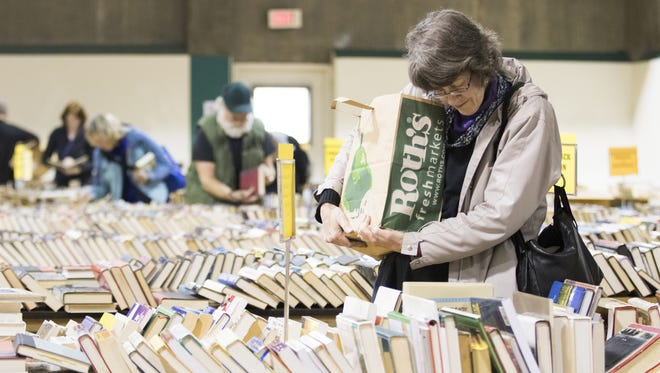 The 63rd annual YMCA Used Book Sale takes place March 3-5 in downtown Salem.