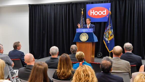 Gov. Andrew Cuomo announces HP Hood expansion in Batavia