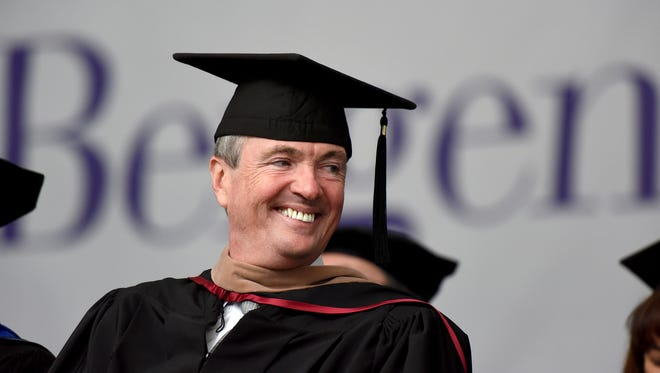 The 50th commencement ceremony of Bergen Community College graduation was held at MetLife Stadium on Thursday, May 17, 2018. NJ Gov. Phil Murphy spoke at BCC graduation.