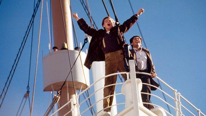"""Leonardo DiCaprio and Danny Nucci appear in a scene from """"Titanic."""""""