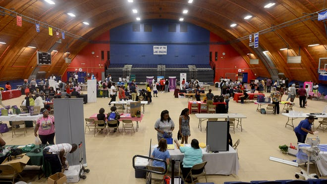 Lane College hosted its 2nd annual Campus and Community Expo on Friday afternoon. This year Lane partnered with the NAACP to promote the Get H.Y.P.E. (Healthy Young People Everywhere) initiative.