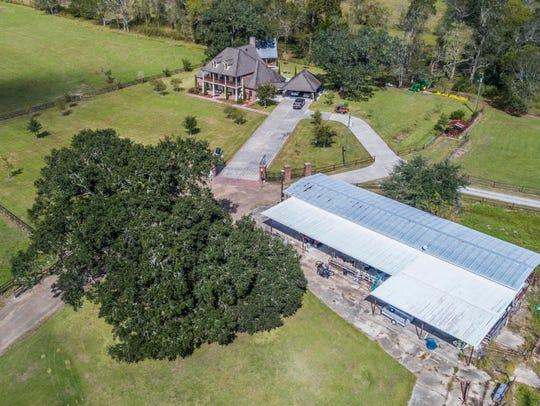 This home sits on more than 30 acres of prime property