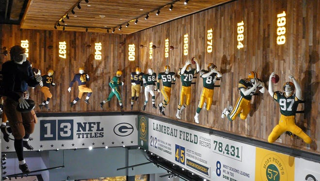 A new, two-story Packers Hall of Fame has opened inside the Lambeau Field Atrium. The attraction chronicles team history and highlights, fan ownership and traditions.
