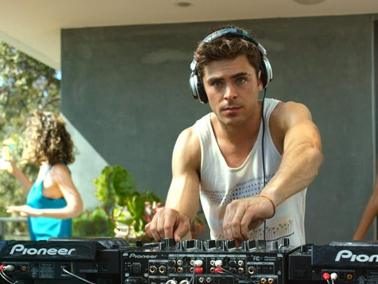 "Zac Efron is a DJ in ""We are Your Friends."""