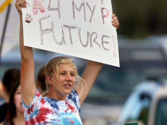 AP U.S. History Protest