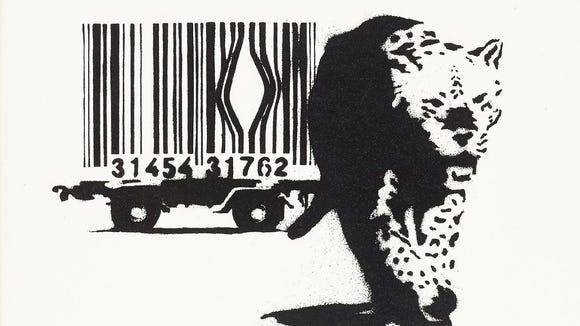 Banksy Leopard