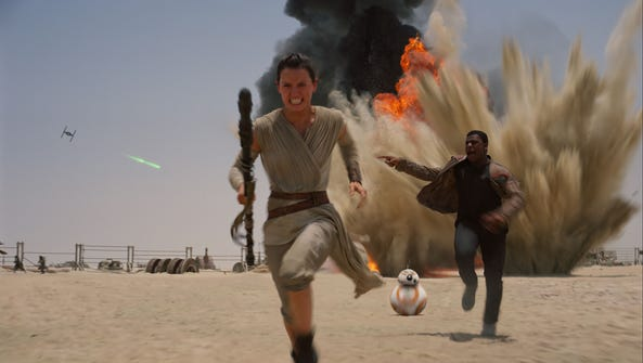 Lucasfilm via AP This photo provided by Disney shows