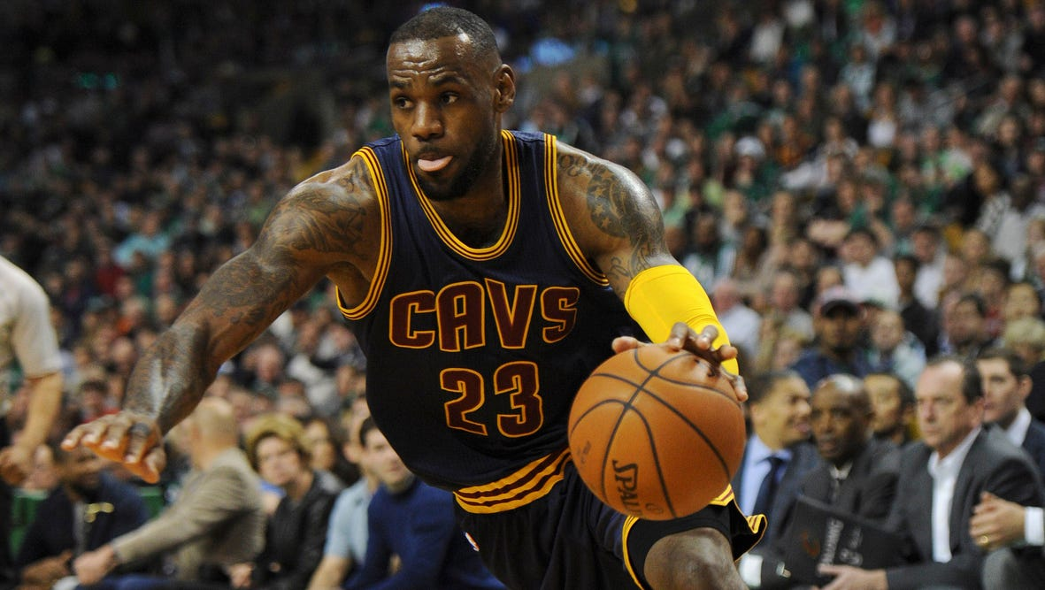 LeBron James and the Cleveland Cavaliers finished off