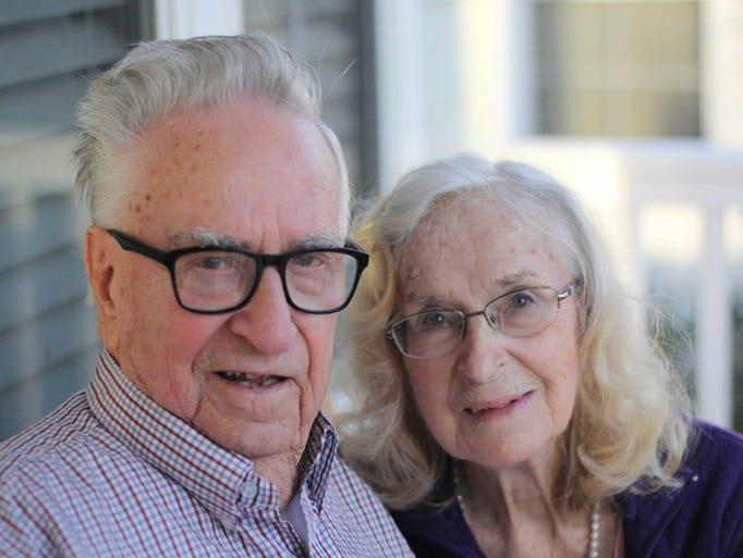 Albert and Amelia Ferkany celebrate their 70th wedding