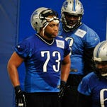 Michael Williams is trying to earn a roster spot with the Lions at a new position.