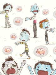 What happens when one zombie prefers peanut butter to brains? A new book helps encourage kids to make their own choices.