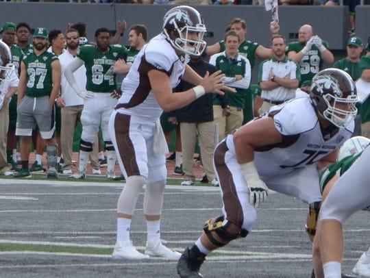 Western Michigan freshman quarterback Reece Goddard