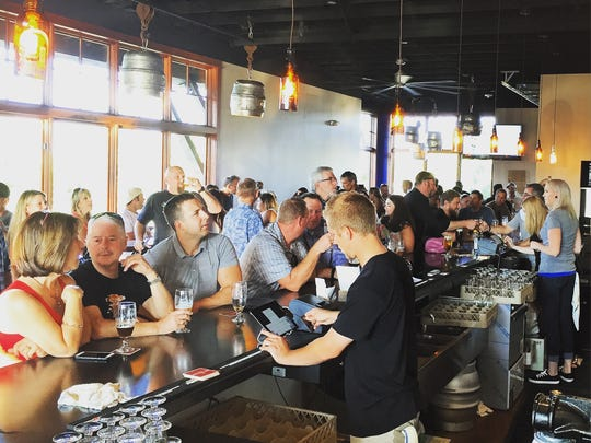 Beer NV, a new taphouse in South Creek, was packed on its grand opening.
