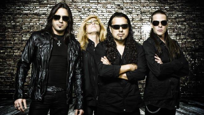 Stryper, from left: Michael Sweet, Robert Sweet, Oz Fox and Tim Gaines