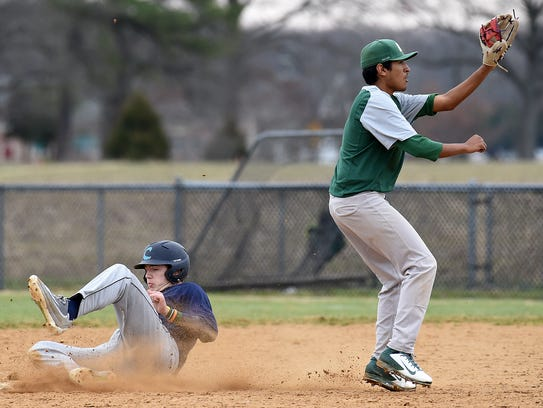 Cape Henlopen HS (blue) and Indian River HS (green)