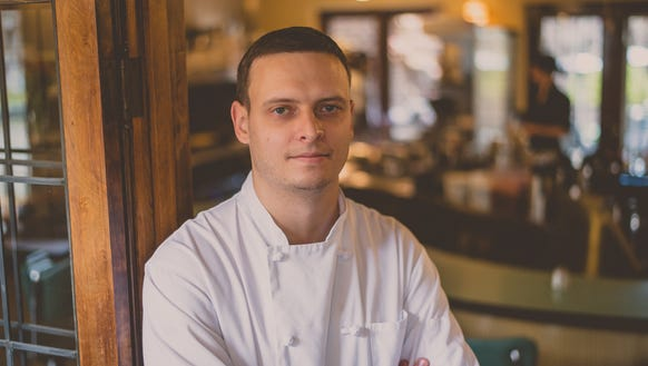 Chef Matt Miller joined Cafe at the Plaza last year