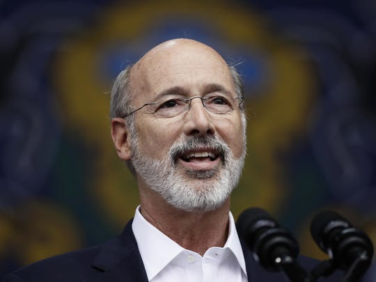 Pennsylvania Gov. Tom Wolf must now deal with a new House Government Oversight Committee. DISPATCH FILE PHOTO