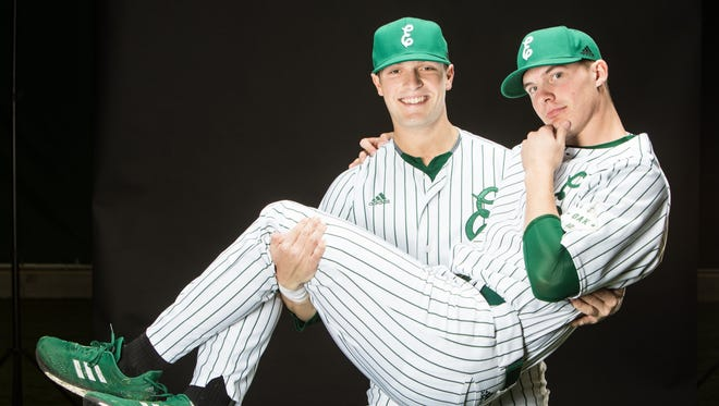 Former Lakeview standouts Nick and Nate Jones are now back together and among the leaders on the Eastern Michigan baseball team.