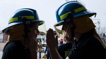 Goodyear introduces young women to firefighting