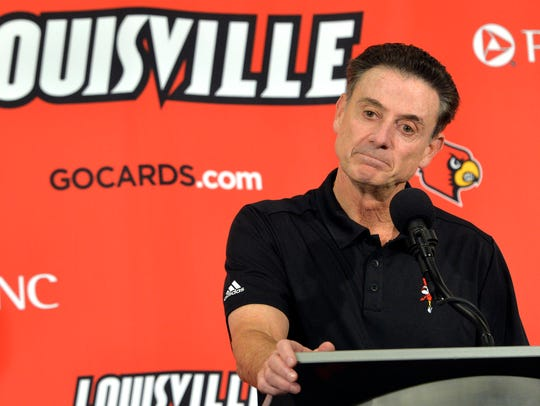 Rick Pitino and Louisville used to be the type of program