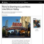 Reno's looking like Silicon Valley? You helped pay for that headline