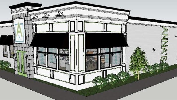 A rendering of Anna's House, which will take over the former Max & Erma's on Newburgh Road.