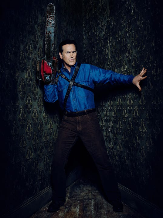 Ash vs. Evil Dead Key Art and Marketing Shoot 2015