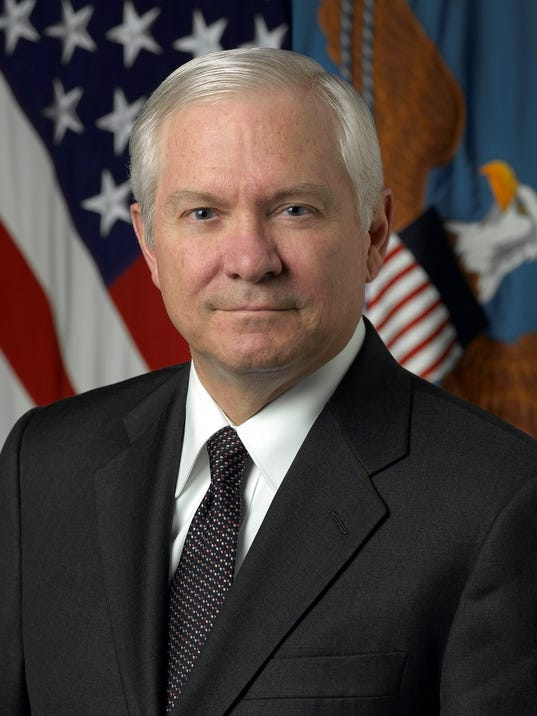 robert gates talks about world affairs brac aggies football