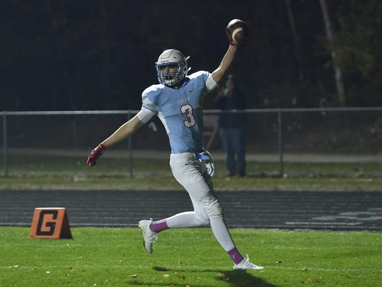 Southern Door's Sam Gerend was one of the best two-way