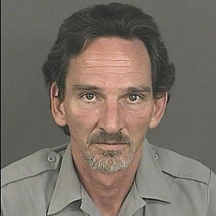 Darren Pettee, 49, was arrested for DUI at an RTD station.