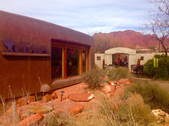 Xetava Gardens Cafe sits in the artsy community of Kayenta within Ivins City