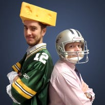 Spencer Shimon, left, and Brandon Tubbs, the two trusted sages of B/S Fantasy Football.