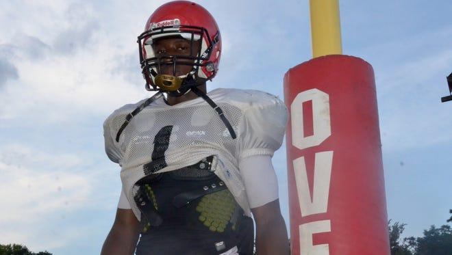 Overton's Theo Jackson ran for three touchdowns Friday night.