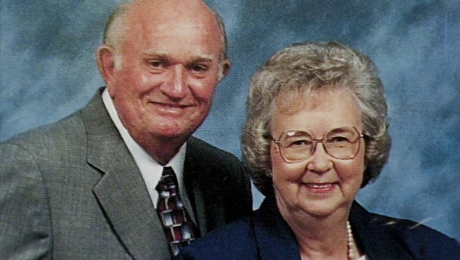 Julian and Alice Brandon, in this photo from the First Baptist Church of Blanchard directory, were victims of a home invasion robbery in 2003. Julian died. Alice survived but died in 2008.