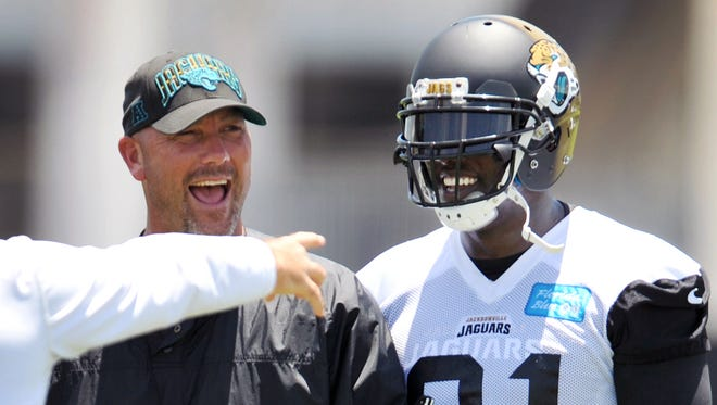 Jaguars coach Gus Bradley is thrilled to be reunited with DE Chris Clemons.