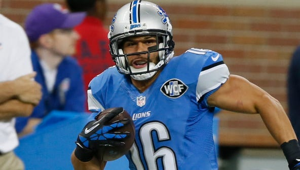 Lions WR Lance Moore